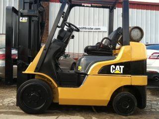 2005 Caterpillar Cushion 5000 Lb C5000 Forklift Lift Truck photo