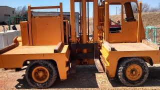 Allis - Chalmers Side Load Forklift 11,  000lbs photo