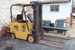 Cat Forklift photo