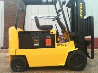 Hyster Electric Cushion 8000 Lb E80xl Forklift Lift Truck photo