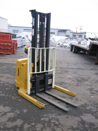 2004 Yale Walk Behind Electric Forklift 4000lb Cap. ,  130