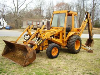 Case 580 B Extendhoe Loader Backhoe Good Farm Machine photo