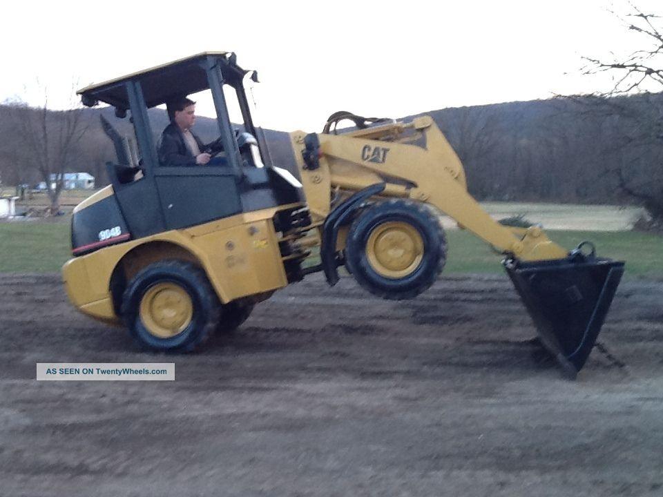 Cat Wheel Tractor : Caterpillar b wheel loader rubber tire pay