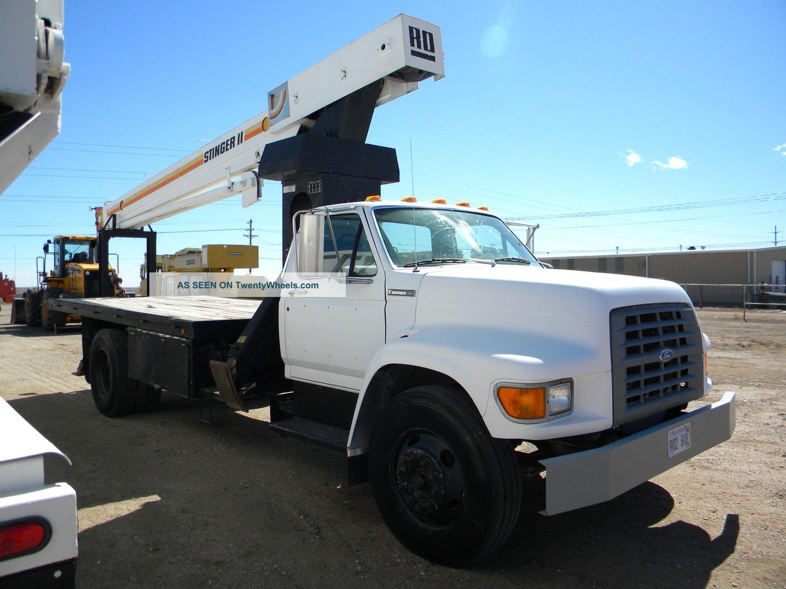 Boom Truck Crane Ford Boom Truck Truck Crane Boom Lift Crane Cranes photo