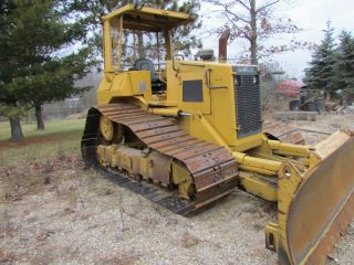 1989 Cat D - 4h High Track Wide Track Dozer photo