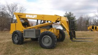 Dynalift D4p80 Model 548 Telescopic Shooting Boom Forklift 36ft Reach Gehl photo
