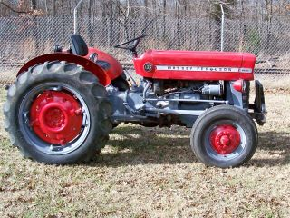 Massey Ferguson 135 Diesel Tractor 2wd photo