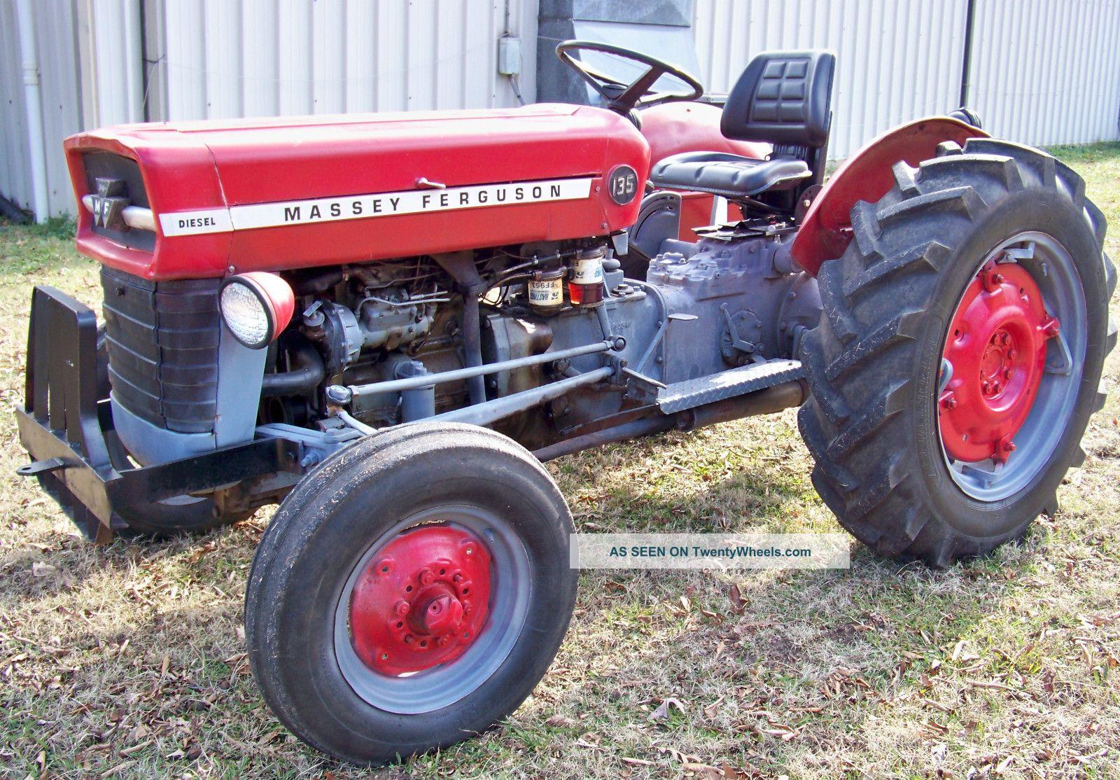 Massey Ferguson 135 Specs : Massey ferguson diesel tractor wd