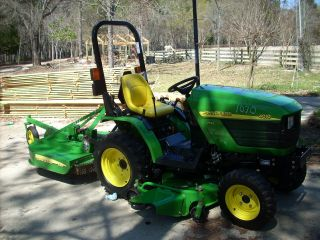 John Deere Compact Tractor photo
