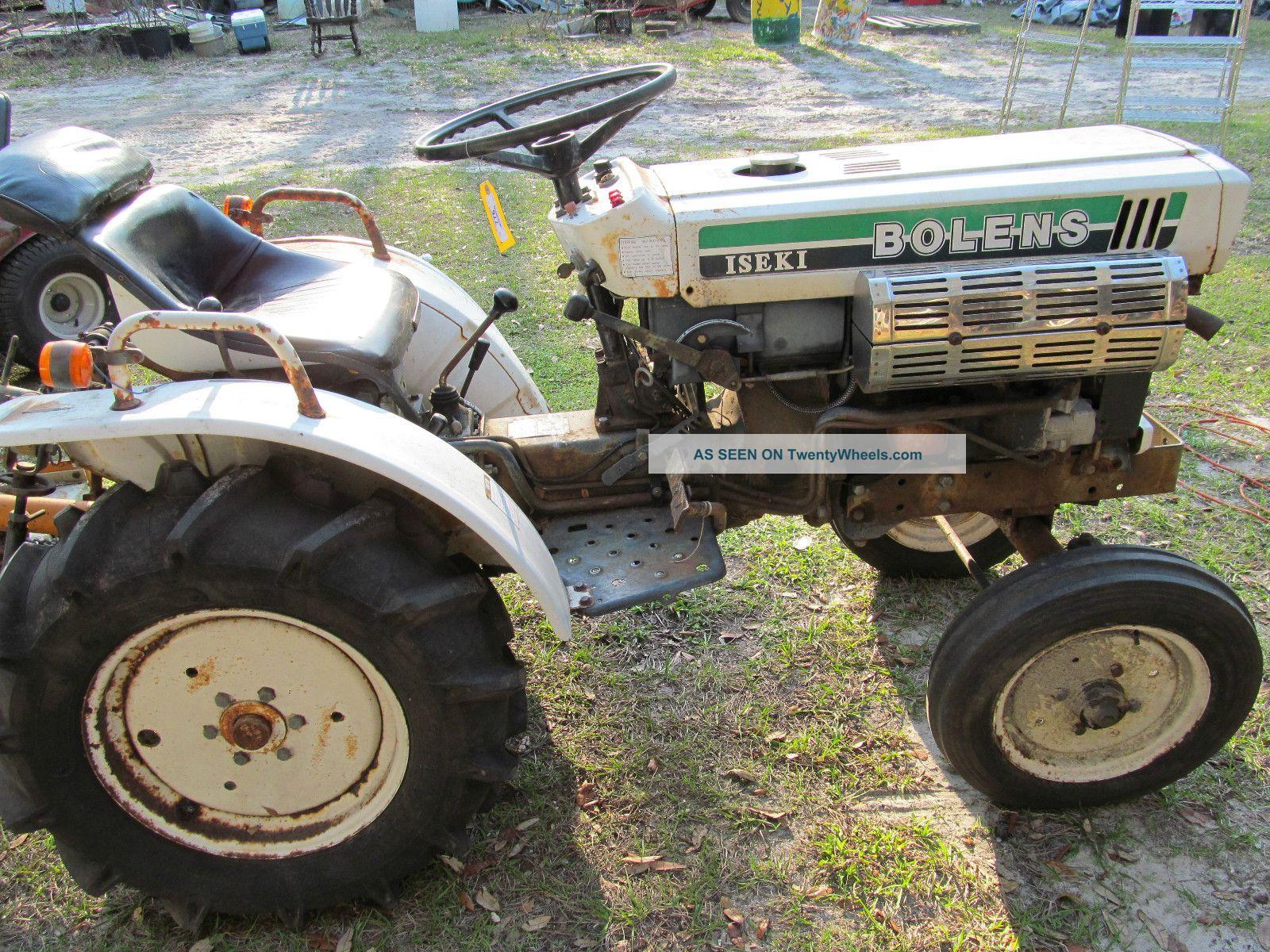 Iseki Tractor Tire Rims : Iseki bolens tractor w woods inch ft finish mower