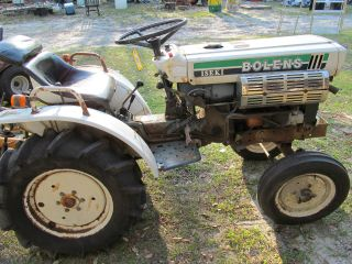 Iseki Bolens Tractor W/ Woods 48 Inch (4ft. ) Finish Mower photo