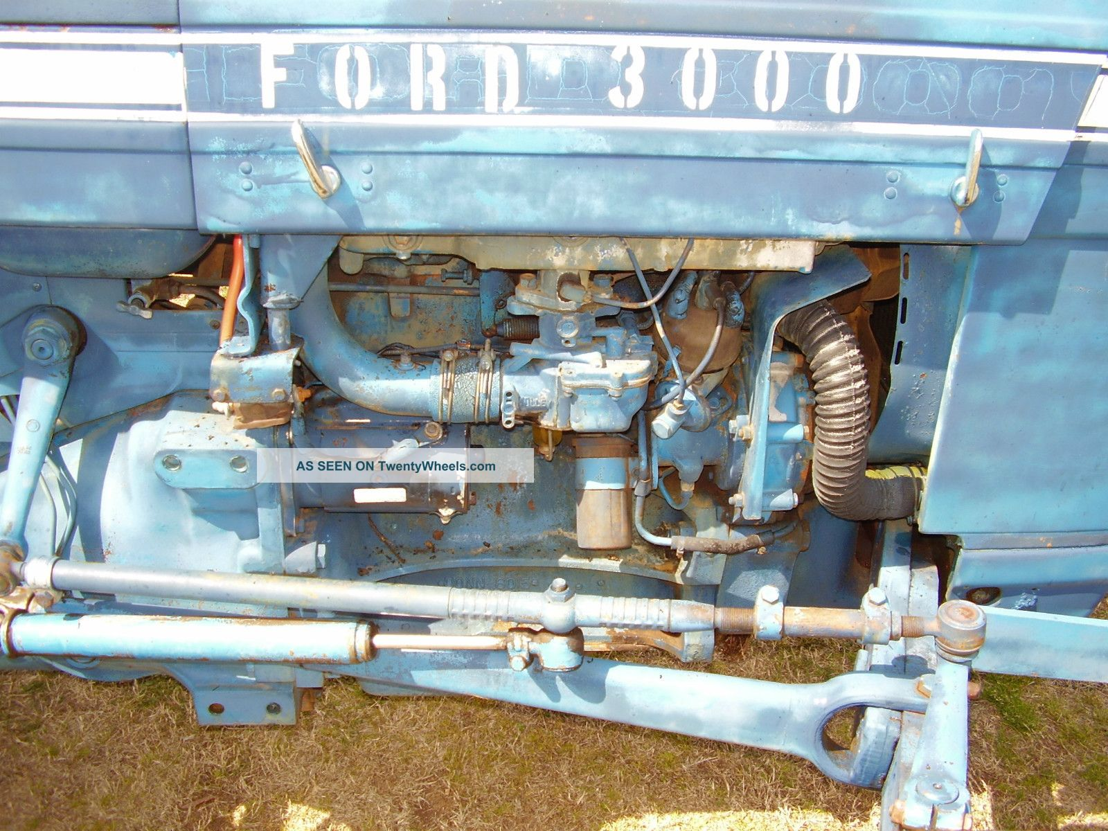 Ford 3000 Gas : Ford tractor power steering