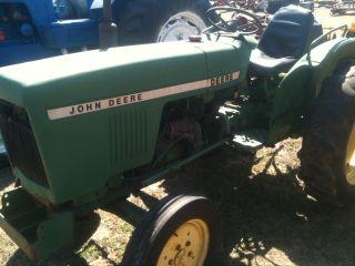 John Deere 850 Compact Tractor photo