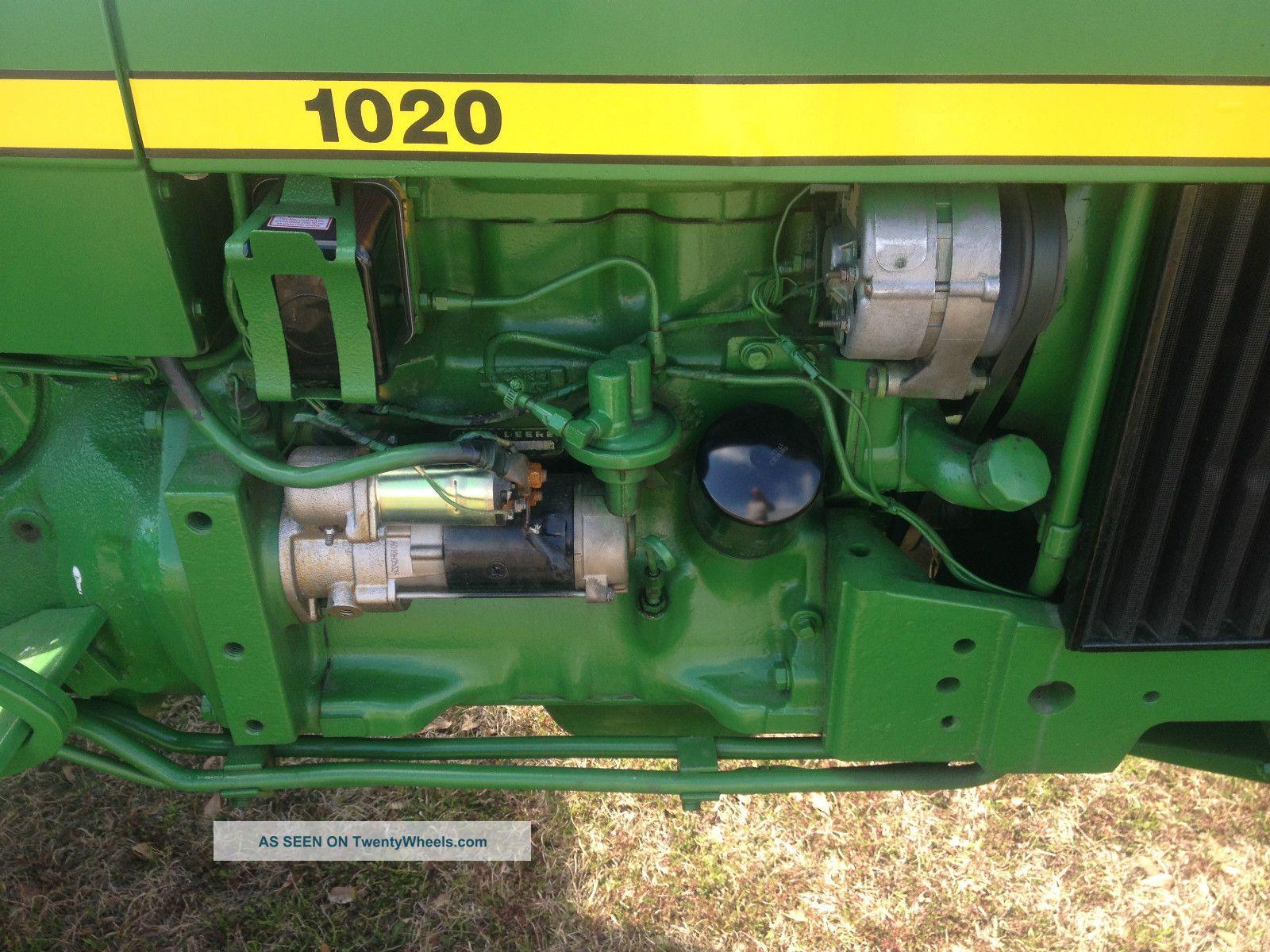 John Deere 1020 Engine : John deere diesel speed trans runs good