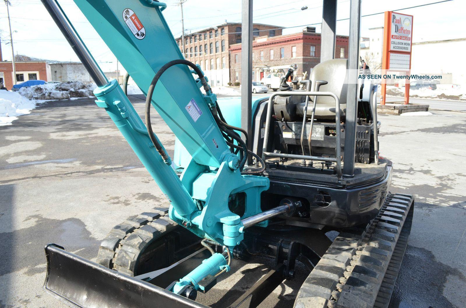 Kobelco Sk45sr Trackhoe Excavators photo