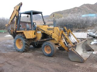 1979 Case 580 C Backhoe Loader Runs And Works Great 2nd Owner photo