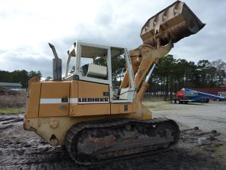Liebherr 622 Litronic Crawler Tractor Loader High Lift Great Undercarriage Cat photo