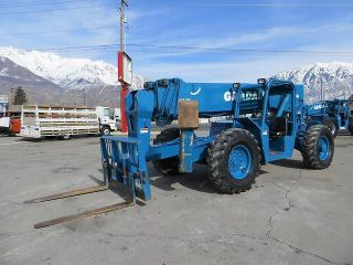 Forward Reach Forklift Gradall 544d 4x4 10,  000 Lb 55 ' Reach Telehandler photo