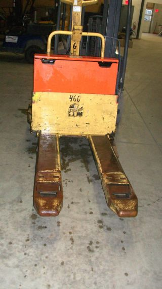 Hyster B40xl Walkie / Rider Electric Pallet Jack W/charger photo