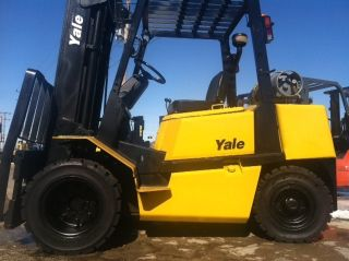 1996 Yale Pneumatic Glp080 8000 Lb Forklift Lifttruck photo