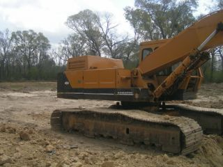 Komatsu Pc220 Lc - 2 Hydraulic Construction Excavator. photo