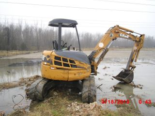 2007 Cx50b Mini Excavator Great Shape And photo