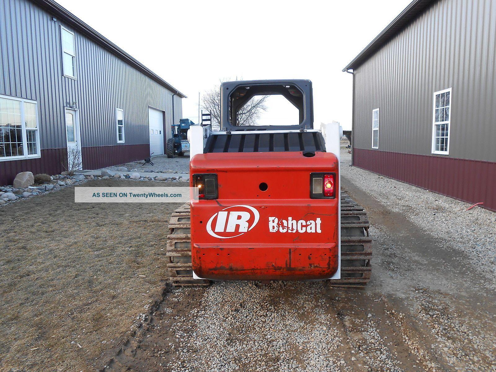 Bobcat Skid Steer Track Loader : G bobcat skid steer steel track loader