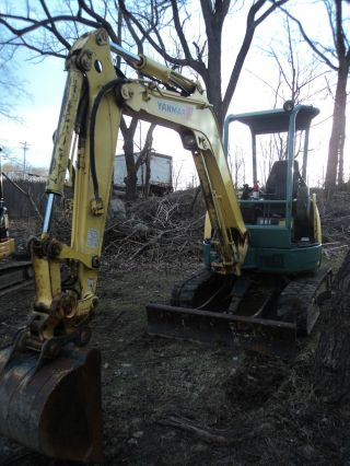 2005 Mini Excavator Yanmar Vio 35 - 2 Quick Disconnect Hydraulic Bucket 2 Aux Hyd photo