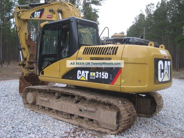 2008 Cat 315dl Excavator Excavators photo