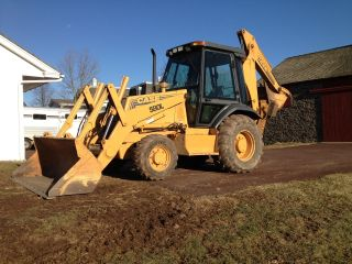 Case 580l Backhoe 4wd photo