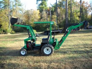 2006 Lay - Mor Mini Backhoe (only 860hrs) photo