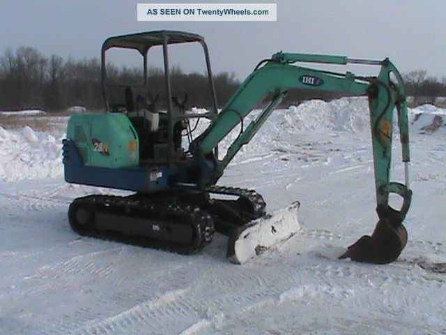 2006 Ihi 28n2 Mini Excavator Excavators photo