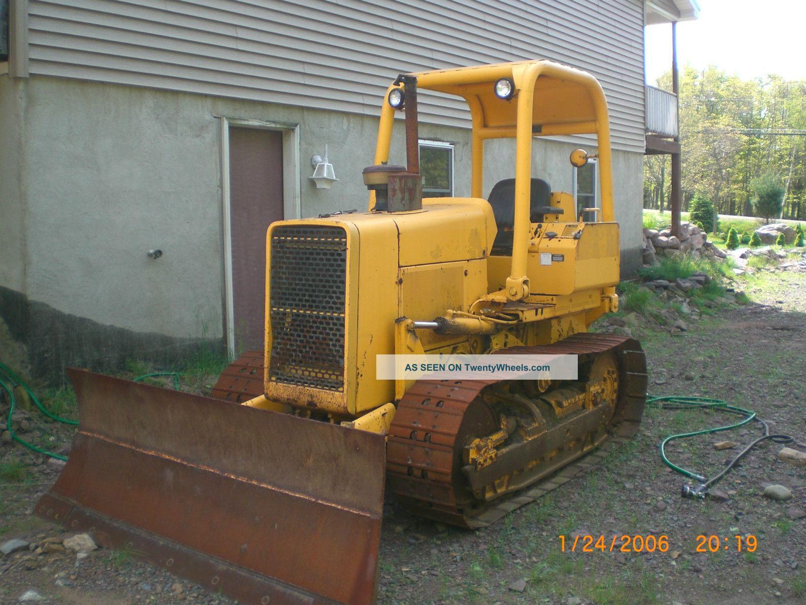 Crawler Dozer 450e John Deere
