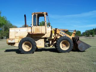 John Deere 444e Wheel Loader,  Less Than 12k Hours.  Erops,  95hp Turbo Powered photo