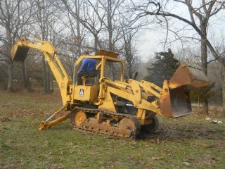 Allise Chalmers Crawler Loader Backhoe photo