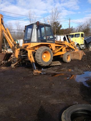 580c Case Backhoe photo