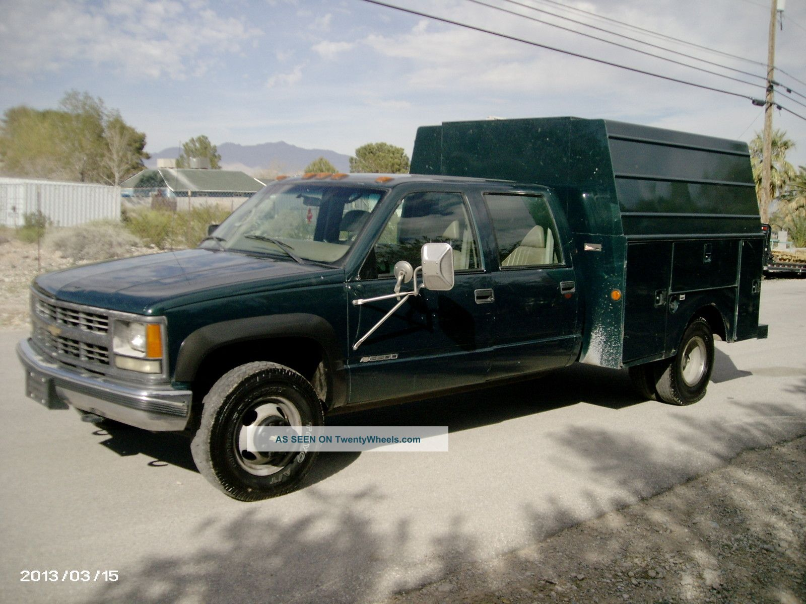 2013 Chevy 3500 Dually
