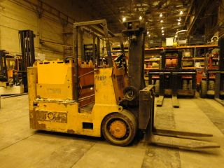 Autolift 30,  000 Lbs Electric Forklift,  Batteries,  Lift Truck photo