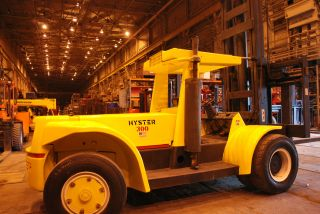 Hyster 30,  000 Forklift Diesel Pnuematic Fork Lift Truck - Just Rebuilt photo