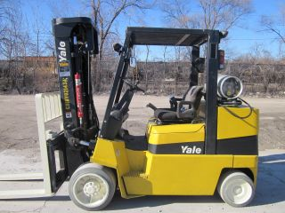 2004 Yale Glc100mj Forklift Lift Truck Hilo Fork,  10,  000lb Hyster photo