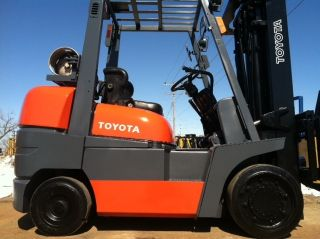 2000 Toyota Cushion 8000 Lb 52 - 6fgcu35 Forklift Lift Truck photo