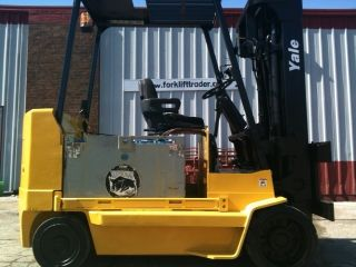 2004 Yale Electric Cushion 12,  000 Lb Erc120hgn48te147 Forklift Lift Truck photo