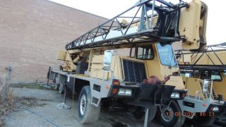 20 Ton Terex / Lorain T220 Hydraulic Truck Crane.  Terex T220 Crane,  Lorain T220 photo