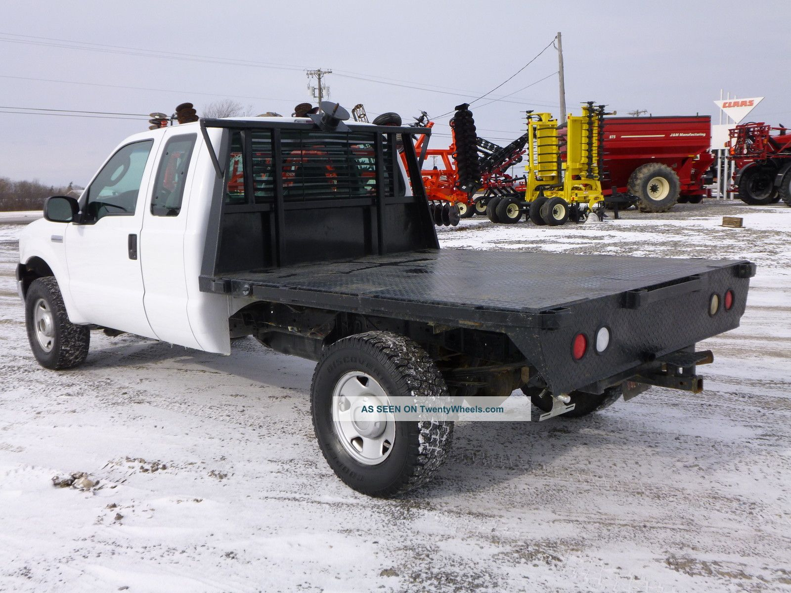 2006 Ford F 250 Duty Flatbed 4x4 Super