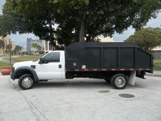 2008 Ford F450 Service / Dump Truck Diesel 4x2 Florida photo