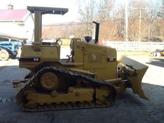 Caterpillar D4h Dozer Loader Cat Crawler Diesel Tractor D 4 Loader High Track photo
