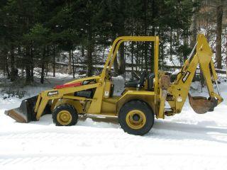 2011 Allmand Tlb425 Esl Tractor Loader Backhoe - Excellent Machine photo