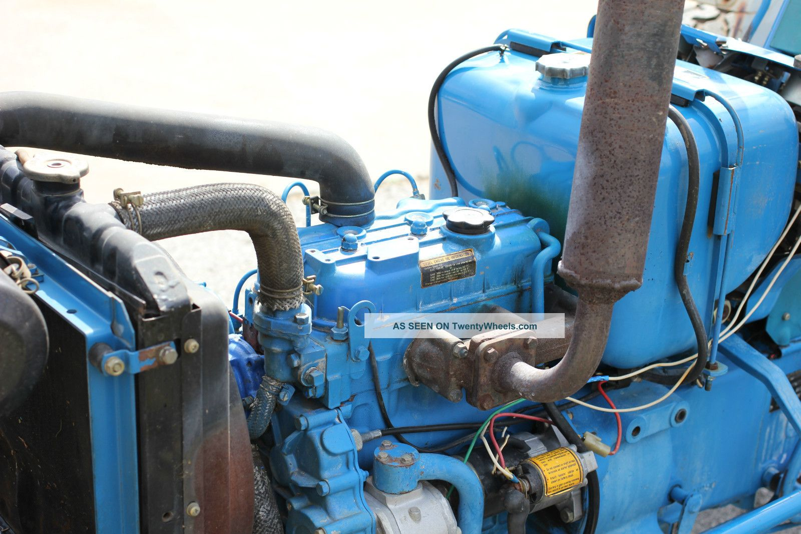 Ford 1710 Engine : Ford compact tractor with woods mower