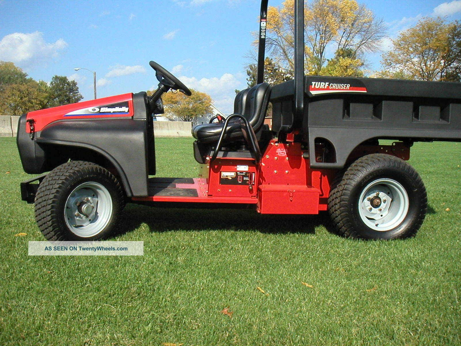 Snapper / Simplicity Turf Cruiser Utility Vehicle Utility Vehicles photo