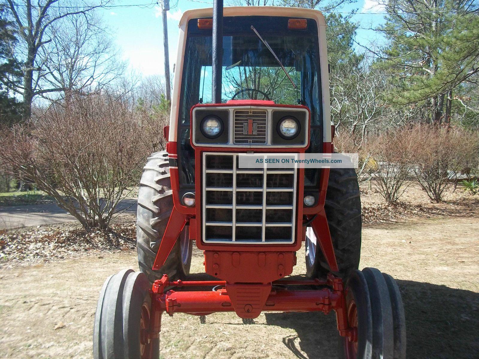 1086 Ih Interior : International farm tractor w cab good interior